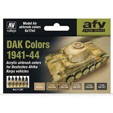 Vallejo Model Air Paint Set - German DAK Colors 1941-1944  - #71207