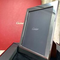 Authentic Cartier Photo Frame Silver Limited Edition 19.5 x 14.5 cm w/Case (NEW)