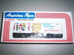 American Flyer #48311  1991 Christmas Box Car