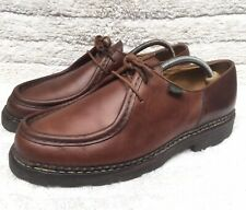Paraboot Michael Marche II Derby Brown Leather Shoes Size Uk 10  |USA 11 EUR 44