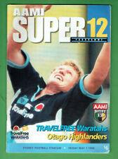 #Kk. Rugby Union Program - 1/5 1998, Waratahs V Otago Highlanders