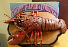 Big Mouth Larry Lobster - Singing Fish Decor - by Gemmy - Works - Ac Plug