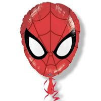 Marvel Spiderman super Hero  X 4 Balloons Cartoon helium party birthday  17 Inch