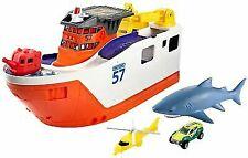 Matchbox Mission Marine Rescue Shark Ship Toy Sea Vehicle Pretend Play Set Fun