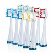 Wellness HP10TX Replacement Heads for HP-STX Sonic Electric Toothbrush (10 Pack)