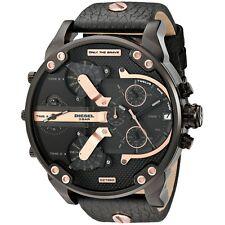 Diesel Watches Mr. Daddy 2.0 Multifunction Leather Watch DZ7350