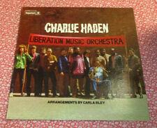 CHARLIE HADEN Liberation Music Orchestra LP (1970) original FREE JAZZ