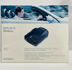 Navman GPS 4460 Bluetooth Receiver with SmartST Navigation Software for PalmOS5