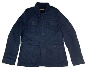 Rugby By Ralph Lauren Jacket Mens Small Medium Navy Military
