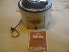 Vintage Poly Pot Slow Cooker Crock Pot