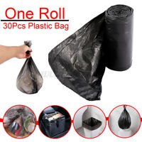 30Pcs Small Garbage Plastic  Home Kitchen Car Trash Disposable Storage  ;*1