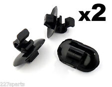 2x Renault Trafic Bonnet Stay Clips- Plastic Holders for Support Strut Rod
