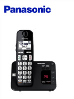 Panasonic KX-TGE433B Expandable Cordless Phone System with Answering Machine
