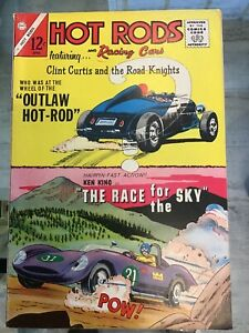 Hot Rods And Racing Cars #73 1965. Fine-  Clint Curtis