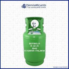 BOMBOLA GAS REFRIGERANTE CONDIZIONATORI R134A 12 kg - bombola a norma - Italiana