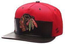Chicago Blackhawks Ball Cap Hat~NHL~Zephyr Anarchy Series~Flat Bill~Snapback