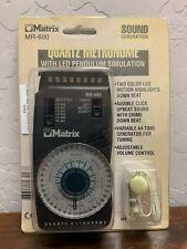 Matrix metronome Mr-600
