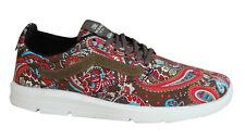 4b21f3d37d Vans Iso 1.5 Paisley Olive Mens Trainers Lace Up Shoes Textile XB8I2U D37
