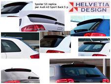 """Spoiler Posteriore / Rear Spoiler """"S3 replica"""" in ABS per Audi A3 Sportback 8P"""