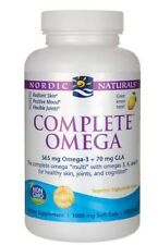 Nordic Naturals Complete Omega 565mg 120caps. For Healthy Skin, joints,cognition