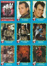 Ghostbusters II - Complete Card Set (88/11) - 1989 Topps - NM