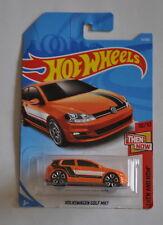 2018 Hot Wheels Then & Now VW GOLF MK7 Volkswagen Orange GTI R Ko4 APR forge