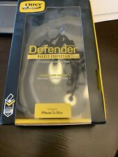 OtterBox Defender Series iPhone X Case - Black