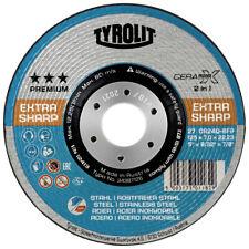 Tyrolit Premium*** CERABOND X Schruppscheibe Stahl Edelstahl 34387126