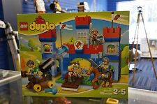 LEGO Duplo 10577 BIG ROYAL Read Full Descr CASTLE 135 Pcs Ages 2-5 Free Shipp US