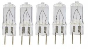5 Bulbs 20 Watt Xenon T4 G8 20w 20 watt 120V Clear GY8.6 - by LSE LIGHTING