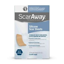 ScarAway Scar Treatment Strips, Silicone Adhesive Fabric 6 Month Supply exp 3/24