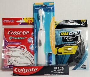 Personal Care * Battery Powered Tooth Brush * Colgate Ultra White w/Charcoal * F