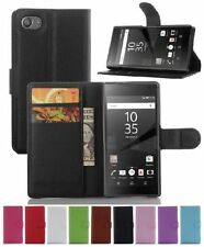Leather Mobile Phone Flip Cases for Sony Xperia Z5
