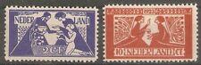 nederland 134-135 ongebruikt MH  c.w.  €  45,00