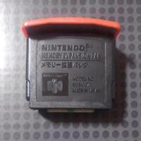 Nintendo 64 Memory Expansion Pack Original Tested Working N64 Japan USED
