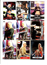 Maryse Wrestling Lot of 9 Different Trading Cards 2 Inserts WWE TNA M-C1