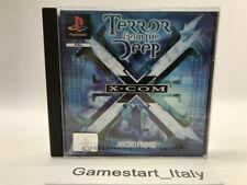 X-COM TERROR FROM THE DEEP - SONY PS1 ITA - USATO PERFETTAMENTE FUNZIONANTE PAL