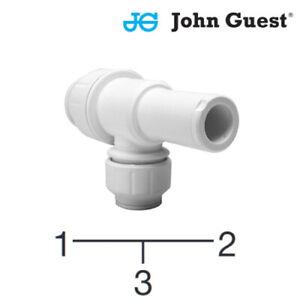JG Speedfit Stem Reducing Tee 22mm X 22mm X 10mm - PEM532210W