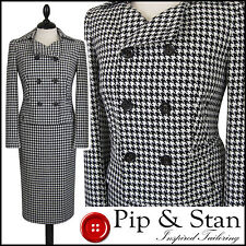Wool Blend Skirt Double Breasted Suits & Tailoring for Women