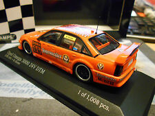 OPEL Omega 3000 24v DTM 1991 Jägermeister Schübel #99 Reuter Minichamps 1:43