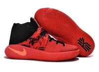 Nike Kyrie 2 Irving Inferno Crimson Orange Black Men's 819583-680 Size 18 New