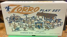 Zorro Playset Box By Nostalgia Boxes