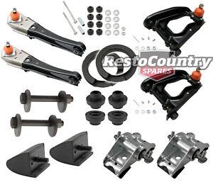Ford Front Suspension Rebuild Kit XR XT XW XY XA XB Control Arms + Saddles +Bump