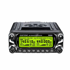 Zastone D9000 50W VHF/UHF Transceiver 2 Way Car Mobile Radio 50KM Walkie Talkie