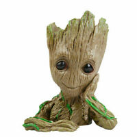 Baby Groot Figure Guardians of The Galaxy Flowerpot Style Pen Pot Toy Best Gifts