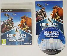 ICE Age 4 deriva continental Raro Juego Para PS3 Playstation 3 en muy buen estado Rápido Post