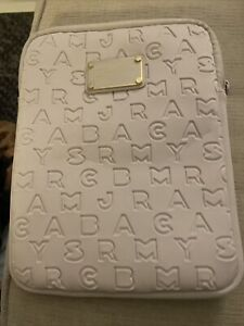 $58 Marc by Marc Jacobs Dreamy Logo TABLET iPad Samsung Taupe Sleeve CASE