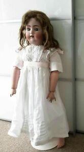 Antique Alk Beck And Gottschalck Doll, 31inches