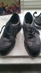 Dr Marten Shoes Vintage 1888 Steel Toe Cap Black/grey UK 8 Made In England 9 uk