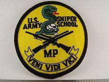 US ARMY SNIPER SCHOOL PATCH BRAND NEW VENI VIDI VICI